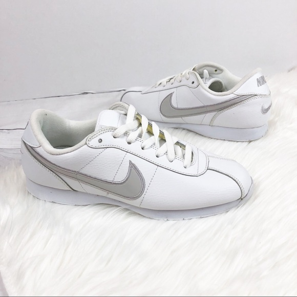 brand new 5d0ab 800d0 Nike Cortez White Gray Sneakers Qs Size 9 Shoes
